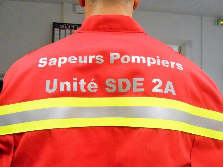DBB Uniformes Fabricant Français de combinaison Sauvetages et Déblaiement GRIMP - Bande triple trim 5 cm marquage dos