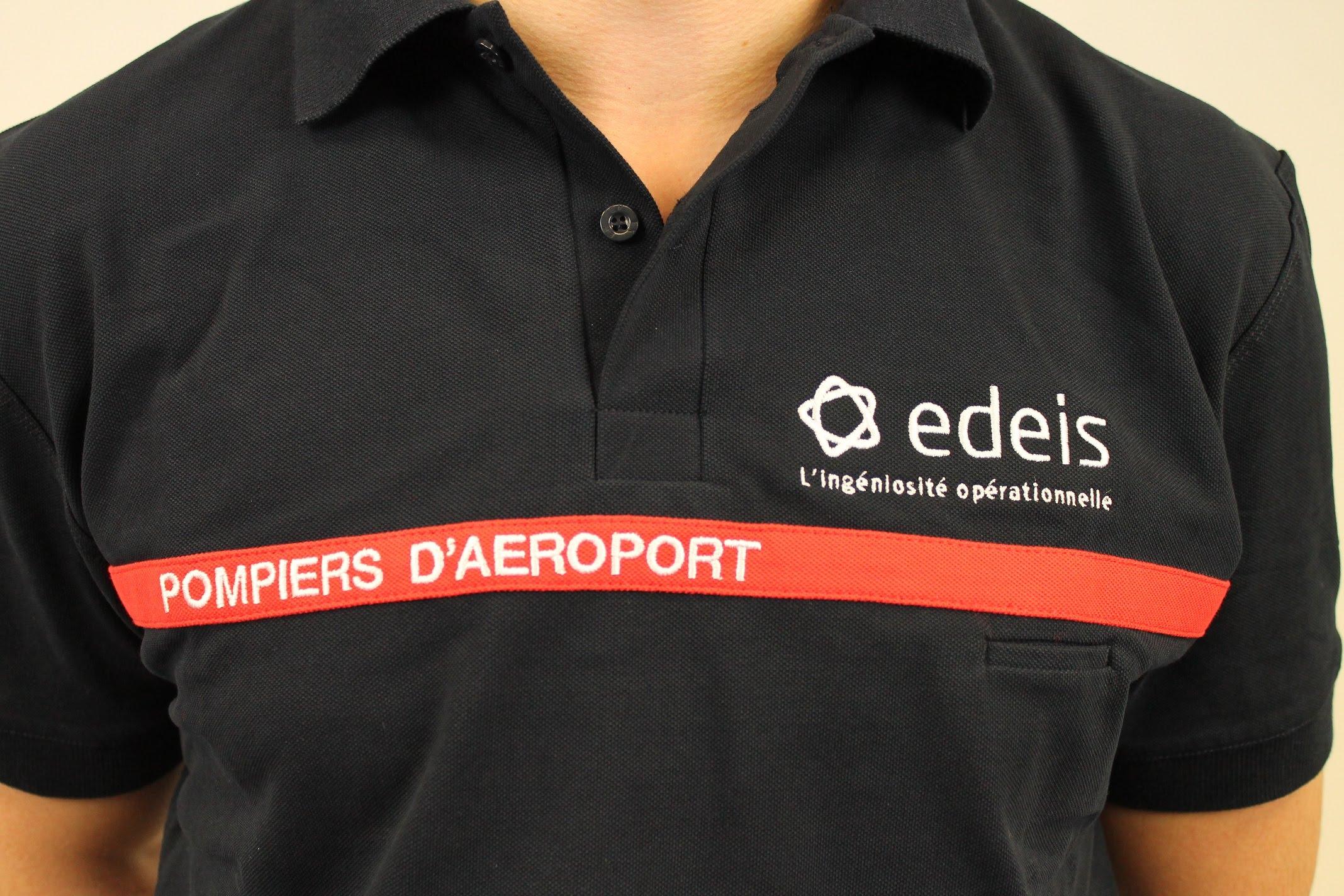 DBB Uniforme équipe les Pompiers d'Aéroport