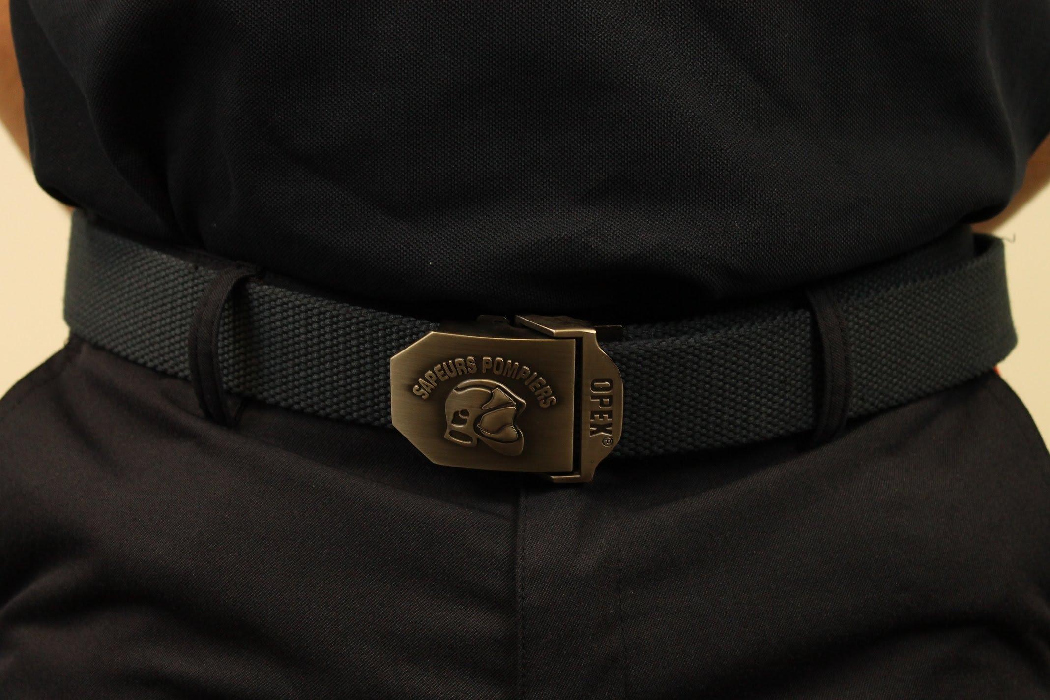 DBB Uniformes vous propose une gamme variée de ceinture pour Sapeurs-Pompiers
