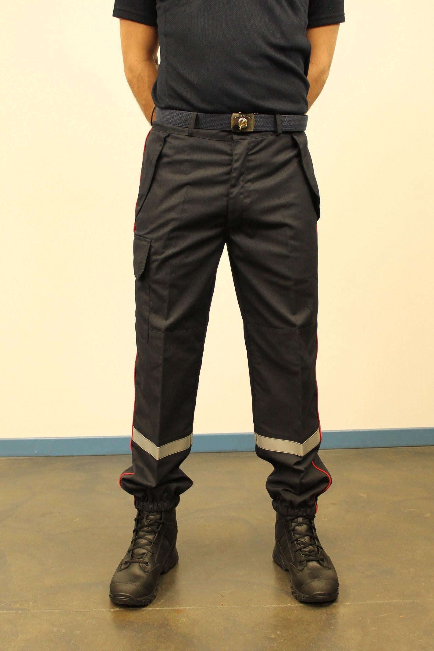 DBB Uniformes fabricant de Tenues Multirisques zone ATEX Pompiers